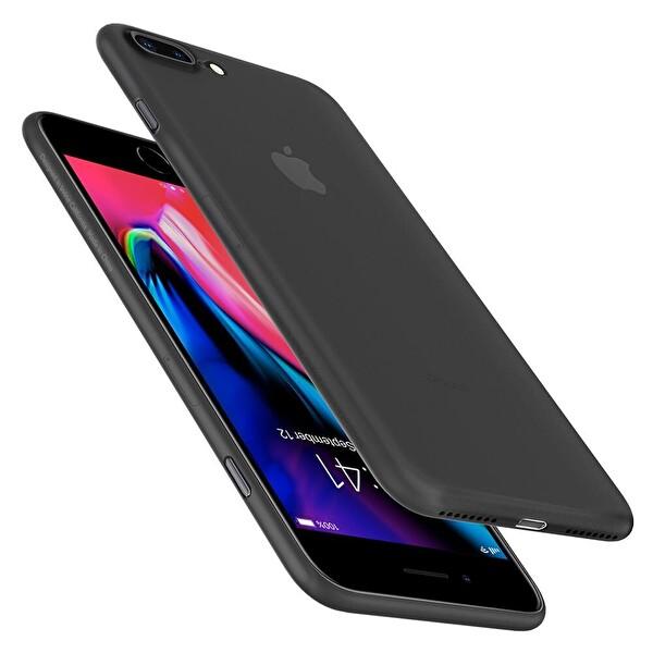 Spigen iPhone 7 Plus Air Skin Black Cep Telefonu Kılıfı
