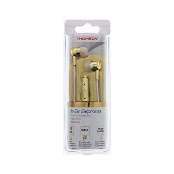 Thomson EAR3005GD Gold Mikrofonlu Kulak İçi Kulaklık
