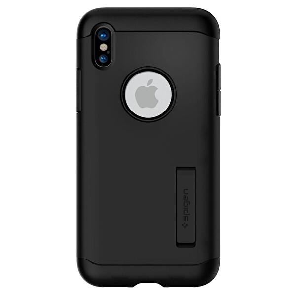 Spigen Slim Armor iPhone  X Siyah Kılıf