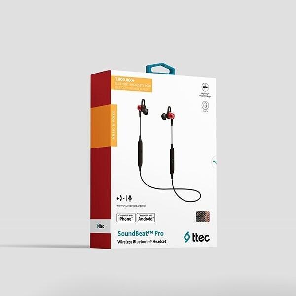 Ttec Soundbeat Pro Bluetooth Kırmızı Kulak İçi Kulaklık
