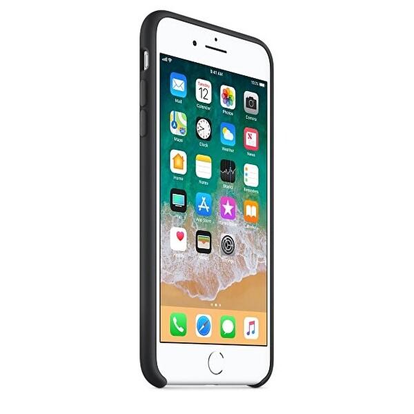 Apple MQGW2ZM/A iPhone 8 Plus Silikon Kılıf - Siyah