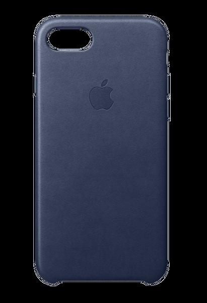 Apple MQH82ZM/A iPhone 8 Deri Kılıf - Gece Mavisi