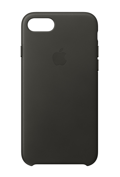 Apple MQHC2ZM/A iPhone 8 Deri Kılıf - Vizon Grisi