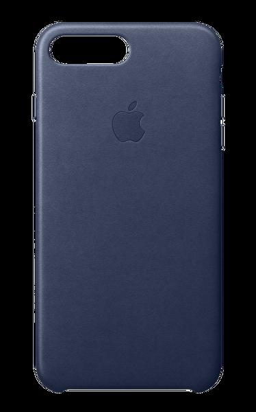 Apple MQHL2ZM/A iPhone 8 Plus Deri Kılıf - Gece Mavisi