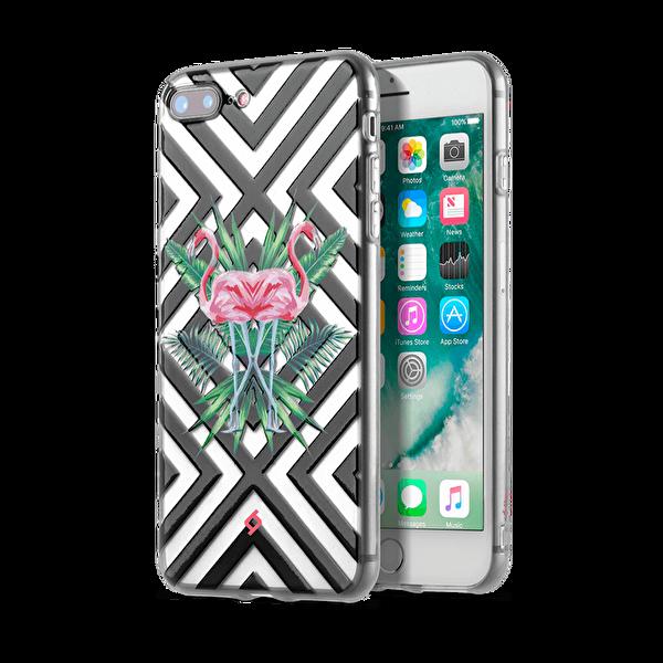 Ttec Artcase Cep Telfonu Koruma Kılıfı iPhone 8 Plus/7 Plus Flamingo