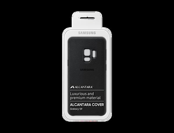 Samsung S9 Alcantara Kılıf Siyah