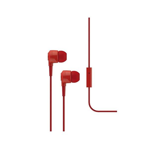 Ttec J10 Kırmızı Mikrofonlu Kulakiçi Kulaklık