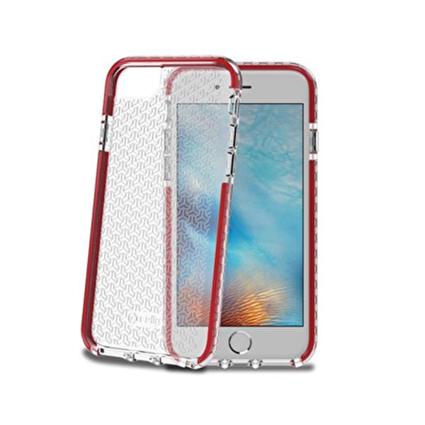 Celly Hexagon800Rd iPhone 6/6S/7/8 Kırmızı Kılıf