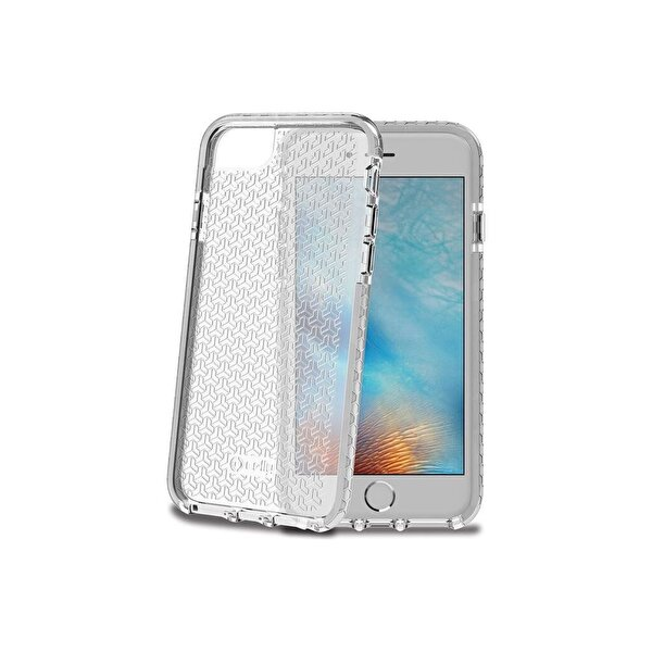 Celly Hexagon800Wh Beyaz iPhone 6/6S/7/8 Kılıf