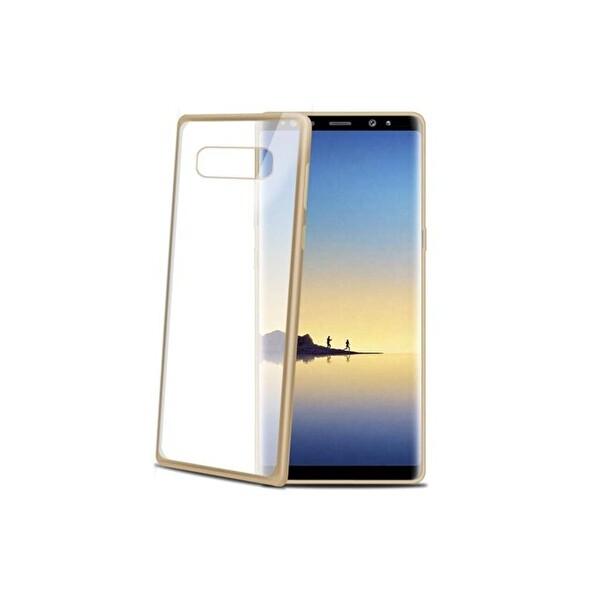 Celly Lasermatt674GD Altın Galaxy Note 8 Kılıf