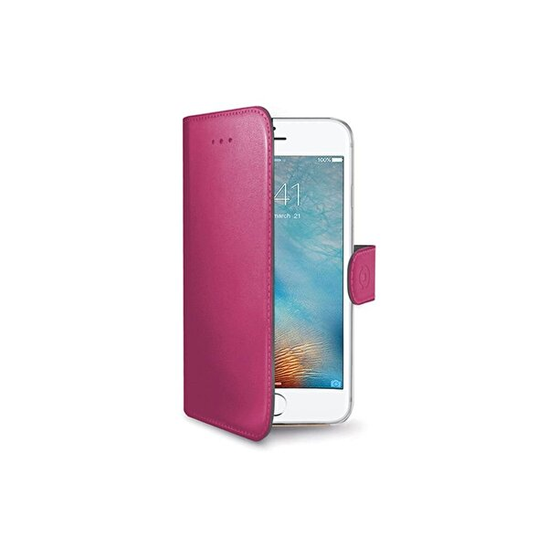 Celly WALLY800PK iPhone 7/8 Pembe Kılıf
