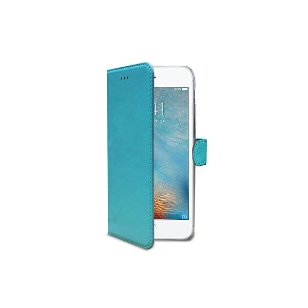 Celly WALLY800TF iPhone 7/8 Turkuaz Kılıf