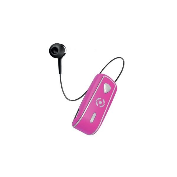 Celly Makaralı Bluetooth Kulaklık Pembe
