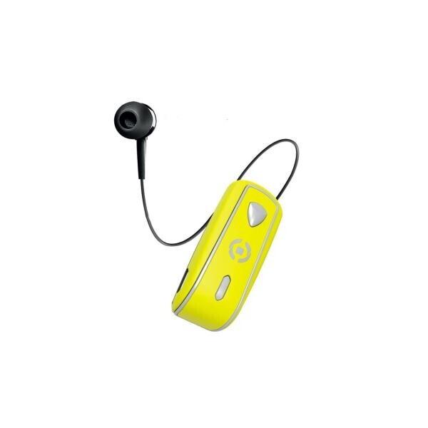Celly Makaralı Bluetooth Kulaklık Sarı