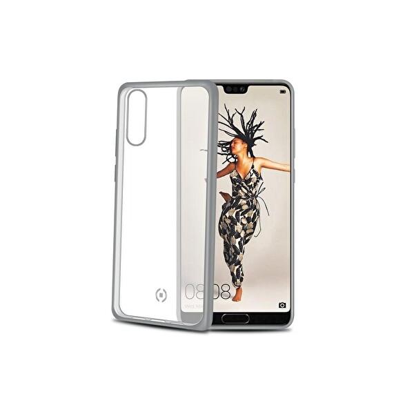 Celly LASERMATT Huawei P20 Gümüş Kılıf