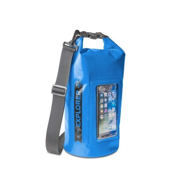 Celly Explorer Suya Dayanıklı 5L Çanta (Mavi)