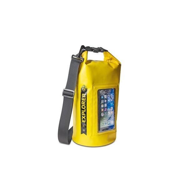 Celly Explorer Suya Dayanıklı 5L Çanta (Sarı)