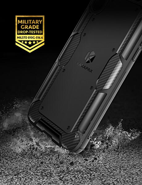 Anker Karapax Shield iPhone X Koruyucu Silikon Kılıf (Siyah)