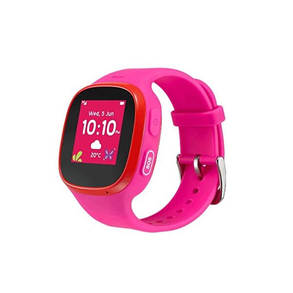 Alcatel Movetime MT30G Fuşya Akıllı Çocuk Saati