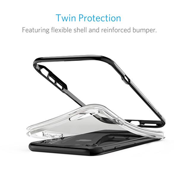 Anker Ice Case Lite Apple iPhone 7/8 Siyah Silikon Kılıf