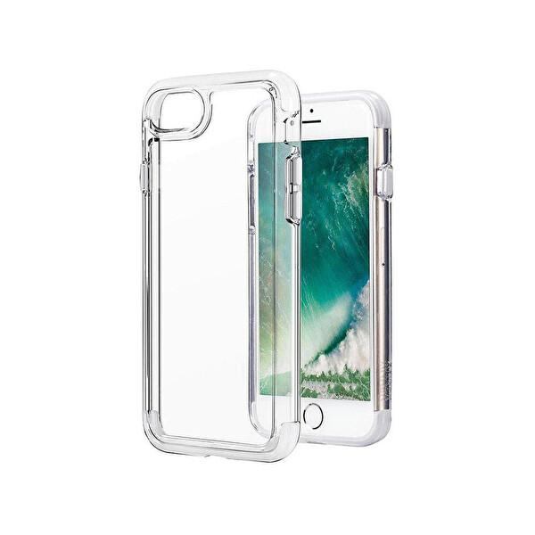 Anker Slimshell Apple iPhone 7/8 Beyaz Koruyucu Silikon Kılıf