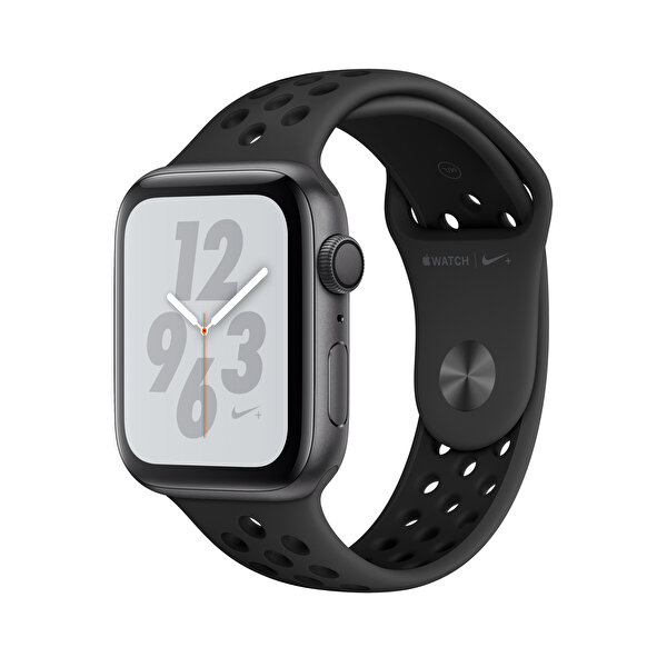APPLE WATCH NIKE+ SERIES 4 GPS, 44MM SPACE GREY ALUMINIUM CASE WITH ANTHRACITE/BLACK NIKE SPORT BAND(MU6L2TU/A) ( OUTLET )