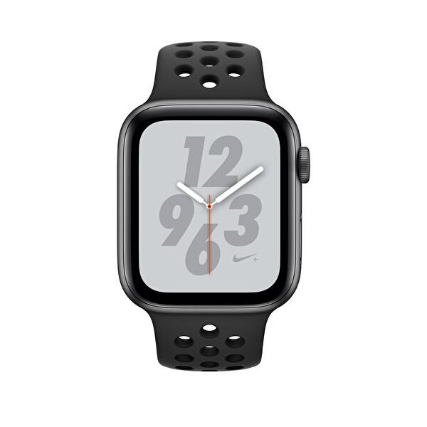 AppleWatch Nike+ S4 44mm Space Grey Alüminyum Kasa ve Anthracite/Black Nıke Sport Kordon (MU6L2TU/A)