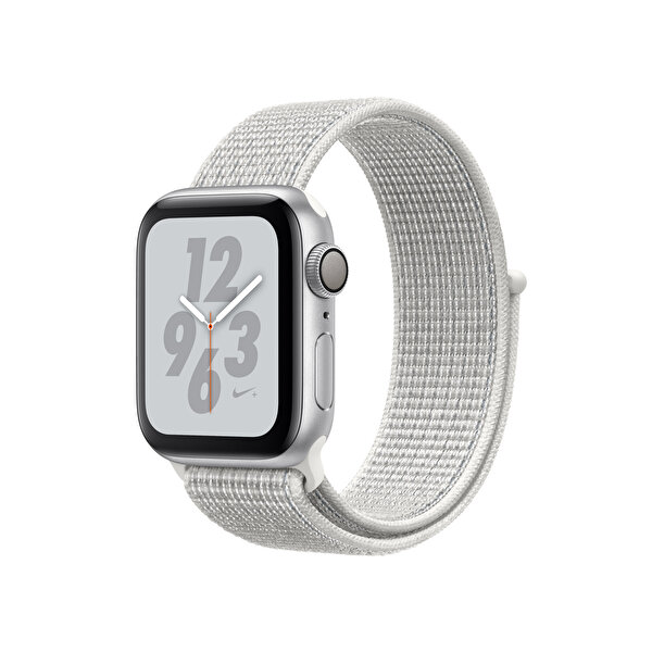 APPLE WATCH NIKE+ SERIES 4 GPS, 40MM SILVER ALUMINIUM CASE WITH SUMMIT WHITE NIKE SPORT LOOP(MU7F2TU/A) ( TESHIR )