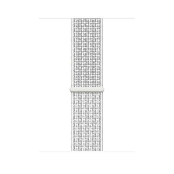 AppleWatch Nike+ S4 44mm Silver Alüminyum Kasa ve Summit White Nike Sport Kordon (MU7H2TU/A)