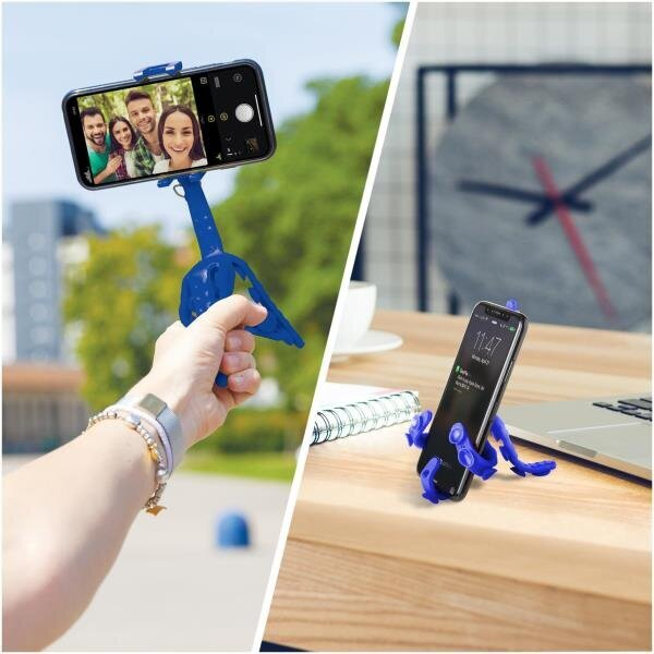 Squiddy Flexible Mini Tripod Mavi