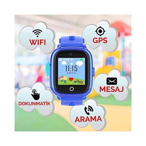 Wiky Watch 3 Plus Mavi Akıllı Çocuk Telefonu