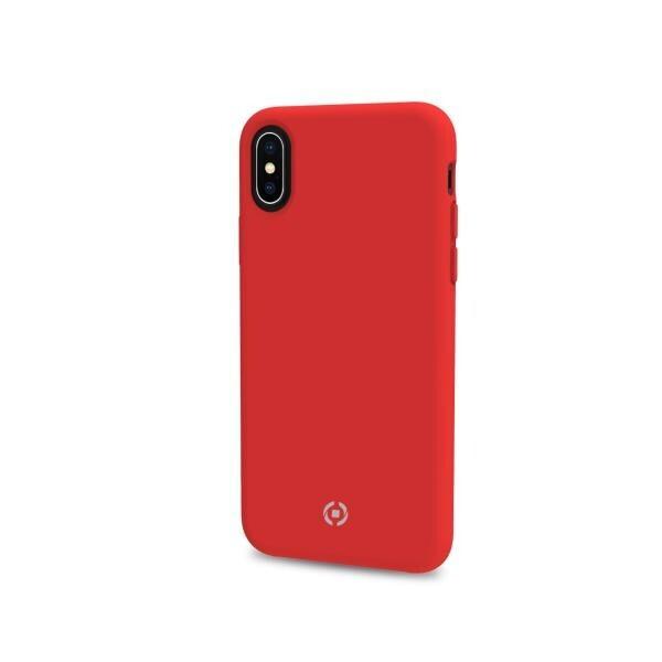 Celly Feeling Kılıf iPhone X/XS Kırmızı