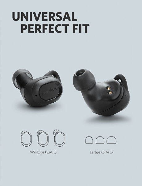 Anker Soundcore Liberty Lite Kablosuz Bluetooth 5.0 Kulaklık Siyah