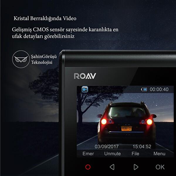Anker Roav Dashcam C1 Araç İçi Kamera -  OFP
