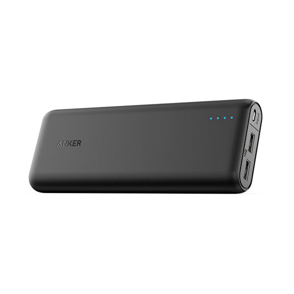 Anker PowerCore 20000mAh Powerbank Siyah 2Port 4.8A ( OUTLET )