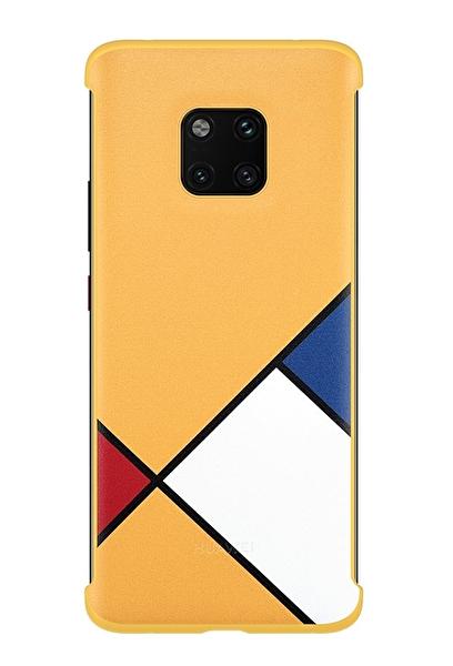 Huawei Laya Mate 20 Pro A.Art Theme Sarı Kılıf