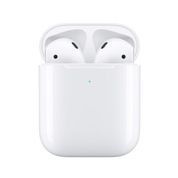 Apple Mrxj2Tu/A Airpods 2. Nesil Ve Kablosuz Şarj Kutusu Gerçek Kablosuz Kulak İçi Kulaklık ( OUTLET )