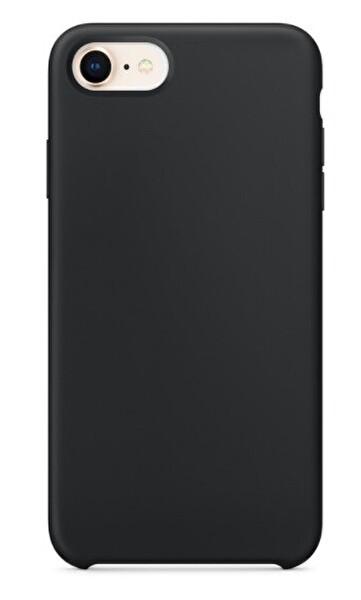 Preo My Case Nano iPhone 7/8/SE Lens Korumalı Silikon Telefon Kılıfı Siyah