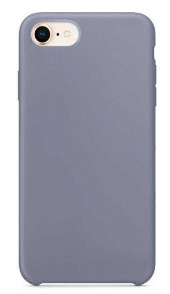 Preo My Case Nano iPhone 7/8/SE Lens Korumalı Silikon Telefon Kılıfı Duman Grisi