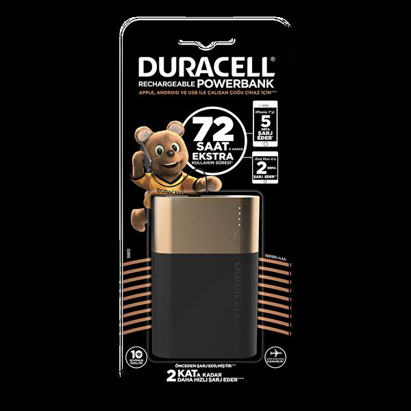 Duracell 10050 mAh Taşınabilir Şarj Cihazı
