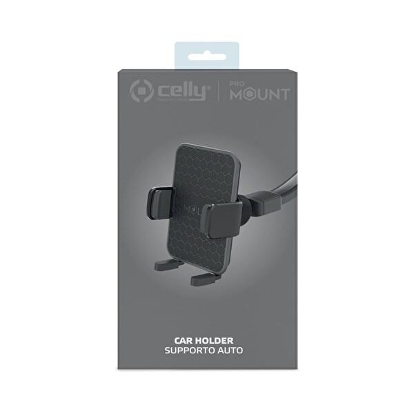 Celly Flex Plus Araç Tutucu Siyah
