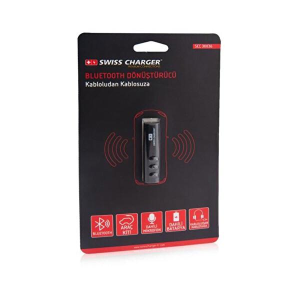 Swiss Charger 30036 Bluetooth Dönüştürücü