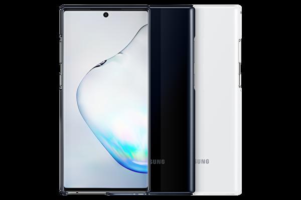 Samsung Galaxy Note 10+ LED Kılıf - Siyah