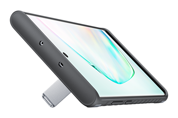 Samsung Galaxy Note 10+ Koruyucu Kılıf - Gümüş Gri