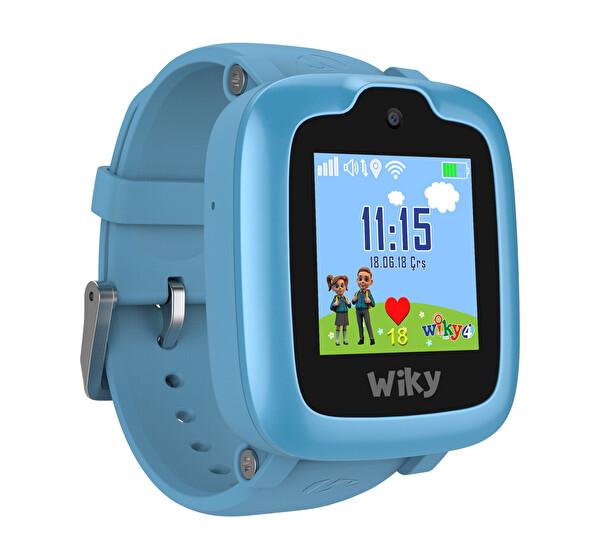 Wiky Watch 4 Mavi Akıllı Çocuk Saati