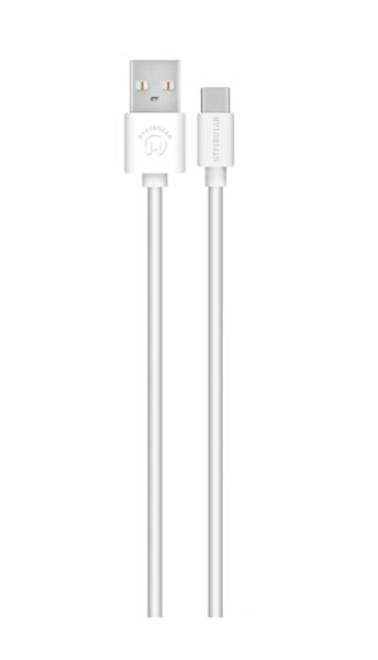 Naztech Hypergear TYPE-C Beyaz Kablo