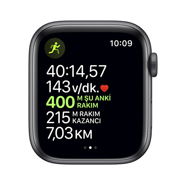 Apple Watch Nike Series 5 44MM Space Grey Aluminium Case With Anthracite/Black Nike Sport Band