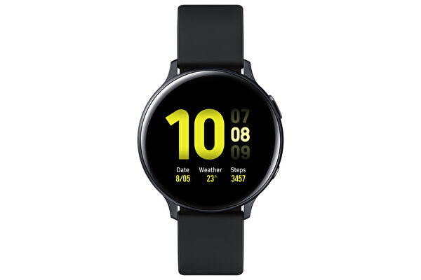 SAMSUNG GALAXY WATCH ACTIVE 2 ALUMINYUM 40mm BLACK AKILLI SAAT ( TESHIR )