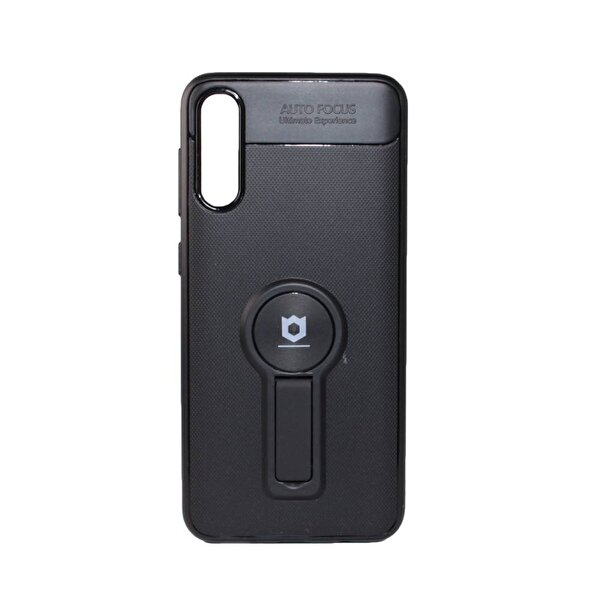 Preo My Case Armour Stand Siyah Samsung A30S Stand&Manyetik Telefon Kılıfı