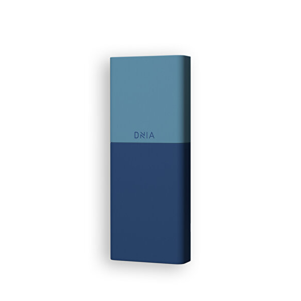 Dnia Mini Blue 5.000 mAh 2A in 2.1A Out Powerbank